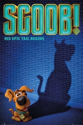 Scoob his epic tail begins - plakat