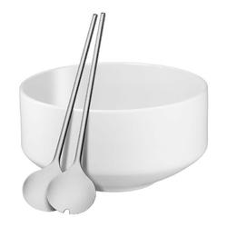 Wmf - zestaw do sałaty biały - 3 szt - biały