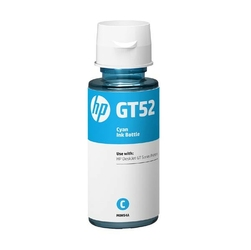 HP oryginalny ink bottle M0H54AE, HP GT52, cyan, 8000s, 70ml, HP DeskJet GT serie, Cronos
