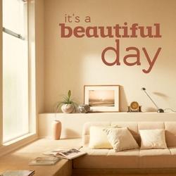 Its beautiful day 1737 naklejka