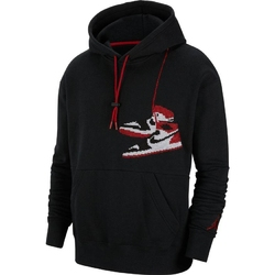 Bluza z kapturem air jordan jumpman holiday - ct3457-010