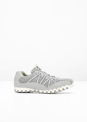Sneakersy bonprix szary melanż