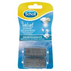 Scholl velvet smooth gruboziarniste wymienne głowice do pilnika elektronicznego 2 szt.