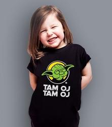 Oj tam oj tam yoda t-shirt dziecięcy czarny 146