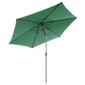 Parasol ogrodowy przeciwsłoneczny  łamany 2,9 m zielony