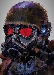 Polyamory - the courier, fallout - plakat wymiar do wyboru: 70x100 cm