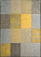 Dywan multi yellow 80x150 cm - 80x150cm