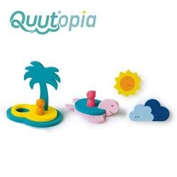 Quut zestaw puzzli piankowych 3d quutopia wyspa skarbów