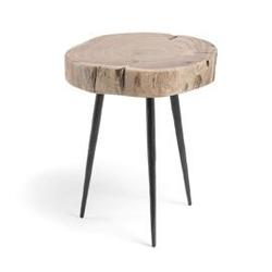 Drewniany stolik rousy 40x34 cm
