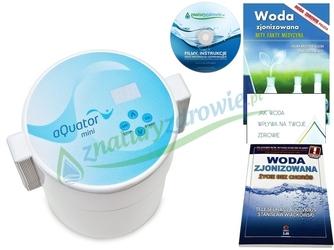 Jonizator wody aquator mini classic poj. 1,5 l, najnowszy model + 4 gratisy  oferta promocyjna