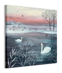 Winter serenity - obraz na płótnie