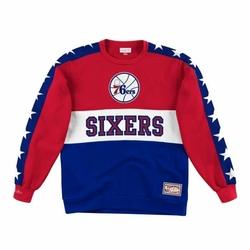 Bluza Mitchell  Ness Leading Scorer Fleece Crew Philadelphia 76ers - FCNKDF18025-P76SCAR - Philadelphia 76ers