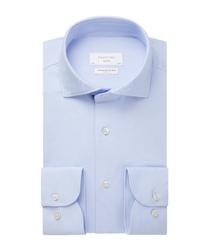 Męska niebieska koszula dzianina 37