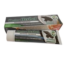 Pasta do zębow dabur herbal toothpaste whitening wybielająca węgiel