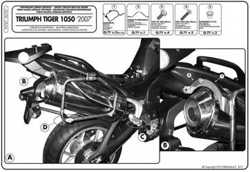 Kappa kl727 mocowanie boczne tiger 1050 07-12