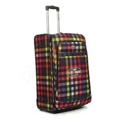 Duża walizka podróżna na kółkach