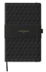 Notes castelli milano - copper  gold honeycomb gold