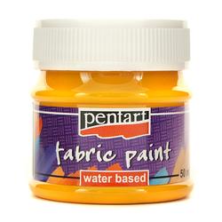 Farba do tkanin Pentart 50 ml - żółty słoneczny - ŻÓŁSŁO