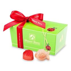 Ballotin green biedronka no.1 pralinki dla dzieci