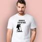 Potrafię zaskakiwać chłopczyk t-shirt męski biały l