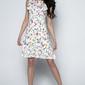 Sukienka w letnie kwiaty z falbankami