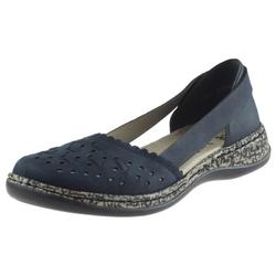 Sandały rieker 46397-14 niebieskie