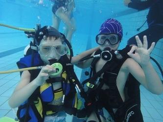 Zapoznanie z nurkowaniem dla dzieci - warszawa