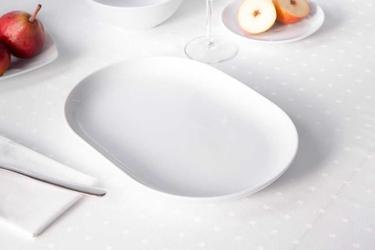 Półmisek porcelana mariapaula moderna biała 33 cm owalny
