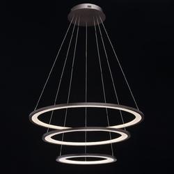 Oświetlenie 3-ringi led 82cm,  zdalne sterowanie, brązowe regenbogen hi-tech 661016803