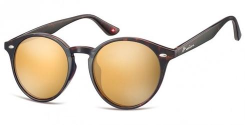 Okulary okragle panterka lenonki lustrzane ms20b