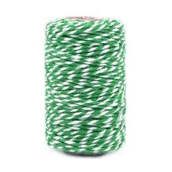 Sznurek ozdobny do rękodzieła 22,5 m - zielony - ZIEL