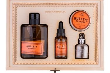 Pan drwal zestaw bulleit beard kit - prezentowy zestaw do brody