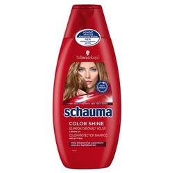 Schauma lśniący kolor, szampon do włosów farbowanych, 400ml