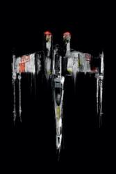 Star wars gwiezdne wojny x-wing fighter - plakat premium wymiar do wyboru: 50x70 cm