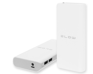 Blow power bank pb15 20000mah 2xusb biały