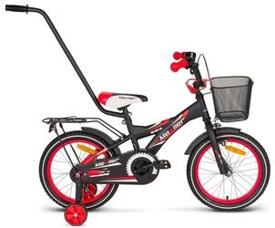 Rower mexller bmx-16 czarno-czerwony