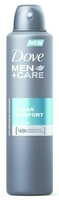 Dove men clean comfort, dezodorant dla mężczyzn, spray 150ml
