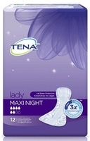 Tena lady maxi night x 12 sztuk