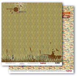 Męski papier Adventure Awaits 30x30cm Gone Fishing - 02
