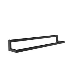 Loft decora :: wieszak ścienny reling border czarny szer. 50 cm