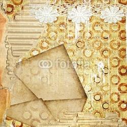 Obraz na płótnie canvas czteroczęściowy tetraptyk tło postrzępione z koperty