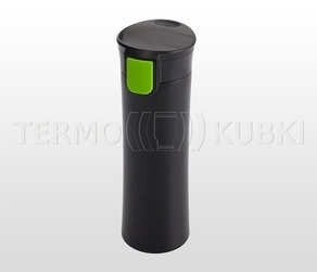Kubek termiczny 540 ml aston czarnyzielony