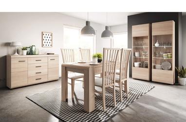 Krzesło kuchenne lank dąb sonoma