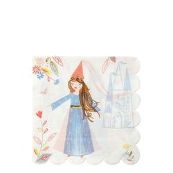 Meri meri duże serwetki magiczne księżniczk