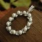 Pearl de lux - wisiorek z perłą i kryształkami svarovskiego