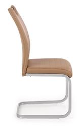 Krzesło jadalniane z ekoskóry z uchwytem k371