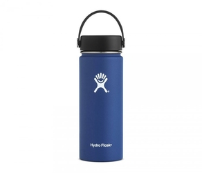 Kubek termos hydro flask wide mouth with flex cap 532 ml cobalt vsco