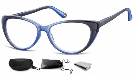 Plusy okulary do czytania i komputera kocie mr64c