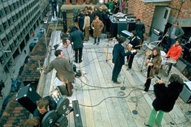 The beatles koncert na dachu - plakat
