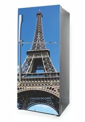 Naklejka na lodówkę wieża eiflla p1067